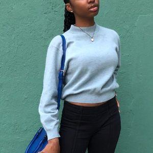 Tops - Fuzzy wool sweater